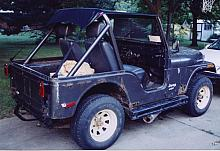 Here is the 1980 Jeep CJ5 that I bought.  It was very rough, but cheap.